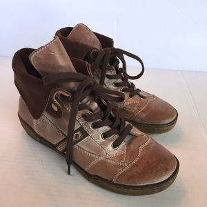 OTBT COLUMBIA BROWN BOOTS ANKLE SHOES